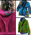 3 hoods - 3 crochet patterns by Sylvie Damey, http://chezplum.com