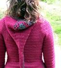 Jehanne Cardi crochet with liripipe hood