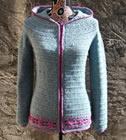 Lutine des fleurs, crochet pattern by Sylvie Damey