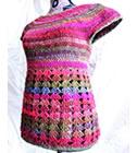Violaine top, crochet pattern by Sylvie Damey, http://chezplum.com