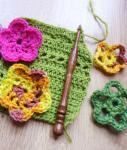 Atelier fleurs au crochet